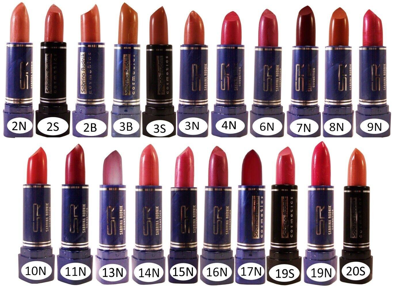 Lippenstift Lipstick Lippenpflege Lippenbalsam Braun Orange Rosa Rot Lila  2-20