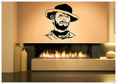 Wall Vinyl Sticker Room Decal Mural Decor Art Cowboy Western Hat Man Gun bo2331 - Cowboy Room Decor
