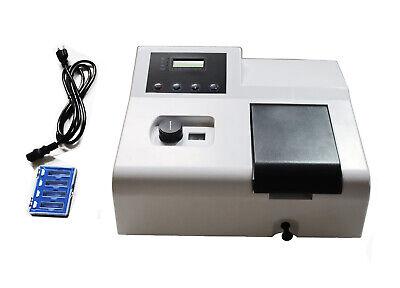 Techtongda 110v Digital Visible Spectrophotometer Labs Multipurpose Analyzer