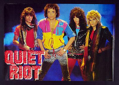 Quiet Riot Condition Critical 1984 New Album Promo Poster 24 x 36