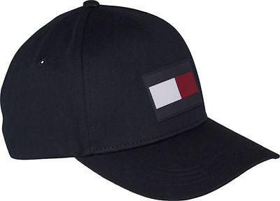 TOMMY HILFIGER TH Flag Cap Cap Accessoire Tommy Navy Blau Neu