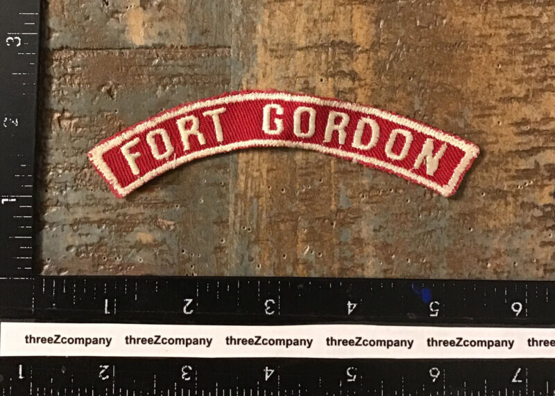 Fort Gordon Red And White Community Strip RWS BSA Georgia