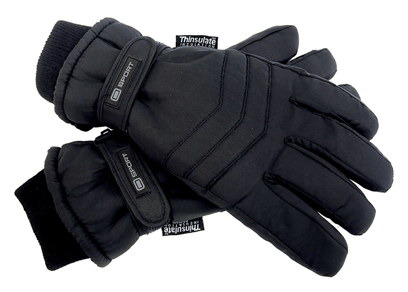 Mens Womens Winter Super Soft Thermal Lined Thinsilate Leather Warm Gloves