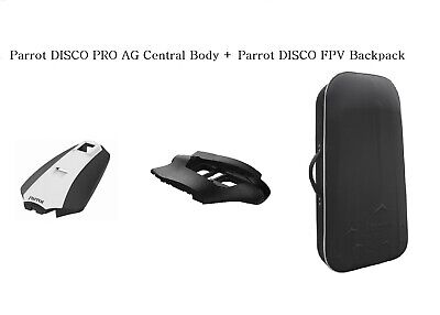 Parrot DISCO PRO AG Central Body and Parrot DISCO FPV Backpack