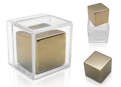 Large Magnets (Large Neodymium Rare Earth 1 Inch Solid Cube Magnet Big Super Strong)