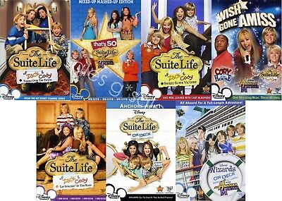 The Suite Life Of Zack & Cody + On Deck Complete TV Collection NEW DVD