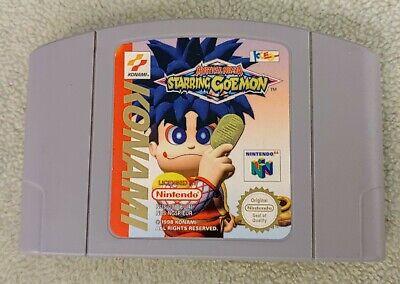 Jeu Goemon Mystical Ninja 64 pour Nintendo 64 - PAL Cartouche Seule N64 Starring