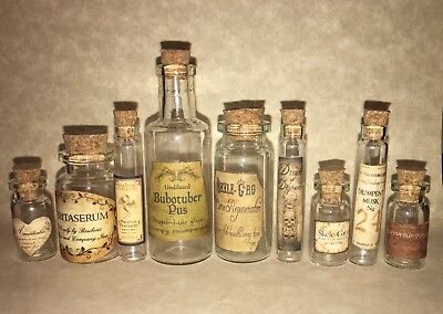 LABELS ONLY!  AMERICAN GIRL DOLL SIZED POTION BOTTLES FOR HARRY POTTER - Halloween Labels For Bottles