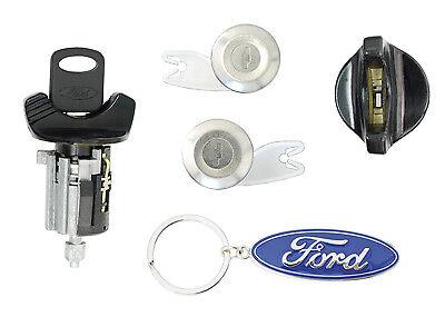 Ford 1992-95 - F150, F250 Pick Up - Ignition, Door Lock Cylinders w 2 Keys Black