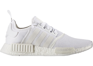 New Adidas NMD R1 Triple White US 9.5 / UK 9 Deadstock BA7245 Melbourne CBD Melbourne City Preview
