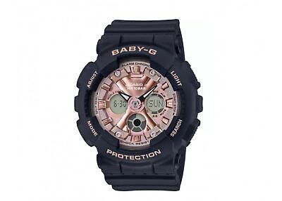 G-Shock Baby-G Analog-Digital Pink Dial Womens Watch BA130-1A4