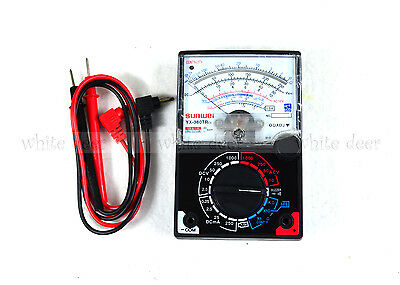 Yx-360tr Es Analogue Meter Multimeter Multitester Fuse Diode Protection Dc Ac