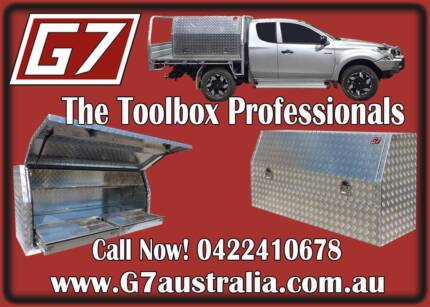 Aluminium Ute Toolboxes Alloy tool box checker plate