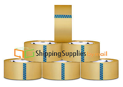 240 Rolls Clear Packing Packaging Carton Sealing Tape 2 Mil Thick 3