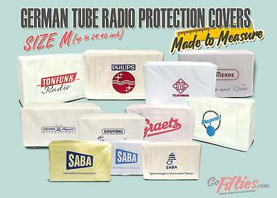 SizeM German Tube Radio Protection Cover SABA,Grundig,Philips,Graetz,Telefunken for sale  Shipping to United States