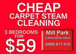 Carpet Steam Cleaning -Tile Grout Cleaning -End of Lease Cleaning Mill Park Whittlesea Area Preview