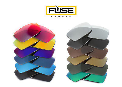 Fuse Lenses Polarized Replacement Lenses for Costa Del Mar (Costa Rafael Replacement Lenses)