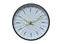 Raised Dial Desk/Wall Clock - Black - 6 - Project 62 - NEW in Open Box