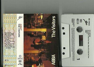 ABBA - THE VISITORS CASSETTE ALBUM / 1981 RELEASE