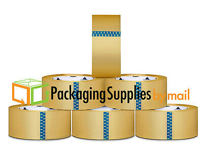 12 ROLLS OF 3 INCH CLEAR BOX PACKING SHIPPING TAPE x 110 YARDS 1.5 MIL THICK.