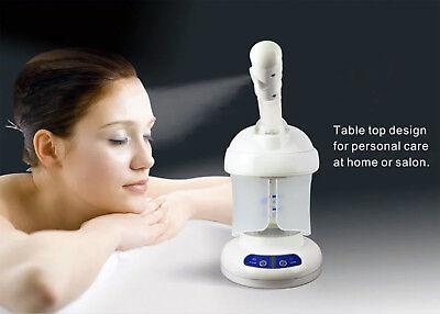 Personal Portable Table TOP Mini Facial HOT Steamer Salon Pr