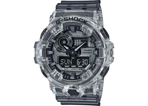 New Casio G-Shock Ana-Digital Semi-Transparent Resin Strap Watch GA700SK-1A