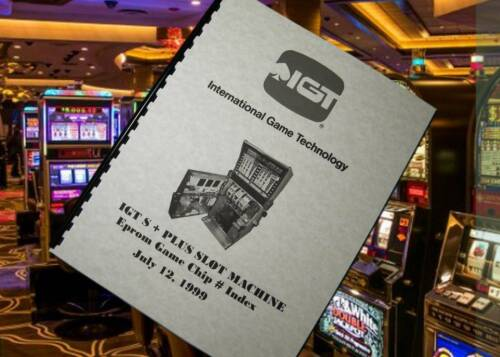 IGT S + PLUS SLOT MACHINE Eprom GAME CHIP # Index SS Manual 1999