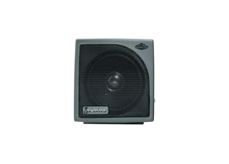 Cobra HG S500 - Dynamic External CB Speaker with Noise Filter and Talk-back
