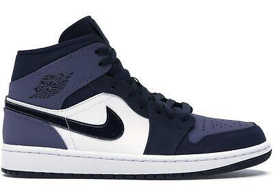 Nike Shoes Air Jordan 1 Mid SE Kid Obsidian Big GS in Size 6.5Y