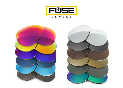 Fuse Lenses Polarized Replacement Lenses for Ray-Ban RB3362 Cockpit (Ray Ban 3362 56mm)