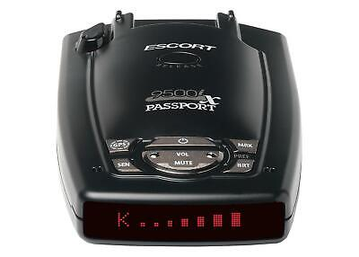 Escort Passport 9500ix Détecteur à longue portée à radar à affichage à LED rouge 0109500-6