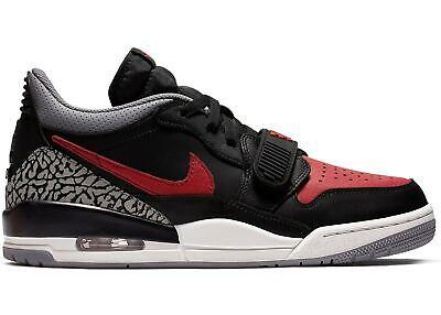 """Nike Air Jordan Legacy 312 """"BRED"""" CD7069 006 Low Mens Shoes Black/University Red"""
