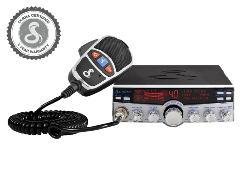 Cobra 29 LX MAX  Professional CB Radio - 1 yr. Warranty