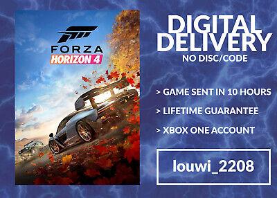 Forza Horizon 4 [Xbox One] (NO CODE/DISC) PLEASE READ THE DESCRIPTION