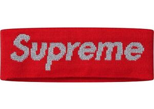 Supreme 3M Headband Red