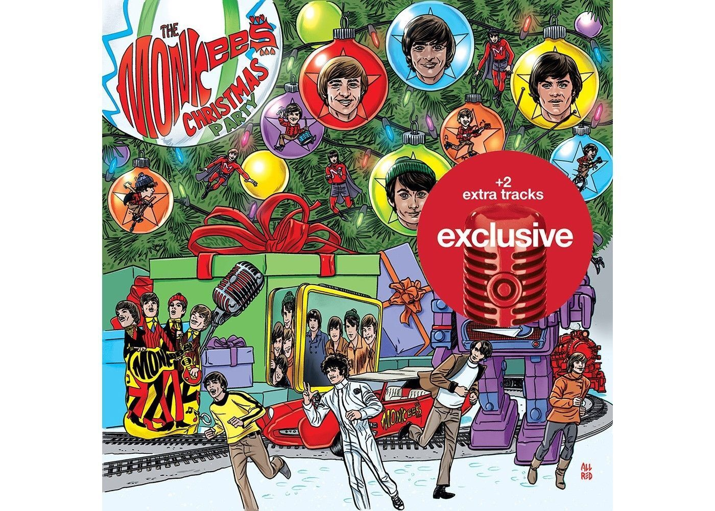 The Monkees SEALED Christmas Party CD TARGET DELUXE LIMITED +2 BONUS TRACKS