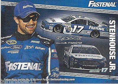 Lot Of  5  2015 Ricky Stenhouse Jr  Fastenal   17 Nascar Sprint Cup Postcard