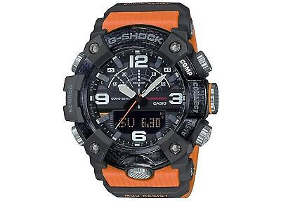 Casio G-Shock Mudmaster Mens Watch - Tough, Sealed, Digital, Orange - GGB100-1A9