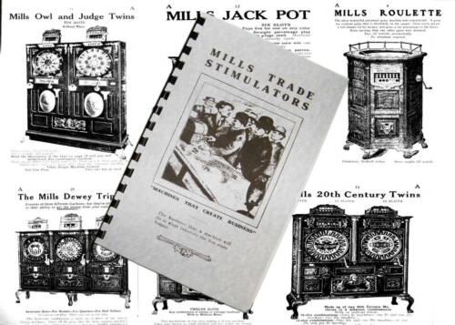 Mills Trade Stimulators catalog 1907 Cleaned And Restored