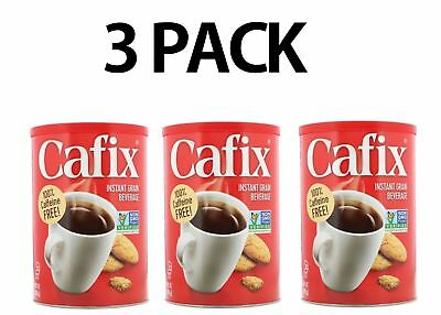 Cafix,  All Natural Instant Beverage, Caffeine Free, 3 PACK, 7.05 oz