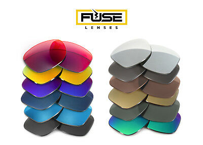 Fuse Lenses Non-Polarized Replacement Lenses for Oakley Triggerman (Asian (Triggerman Asian Fit)