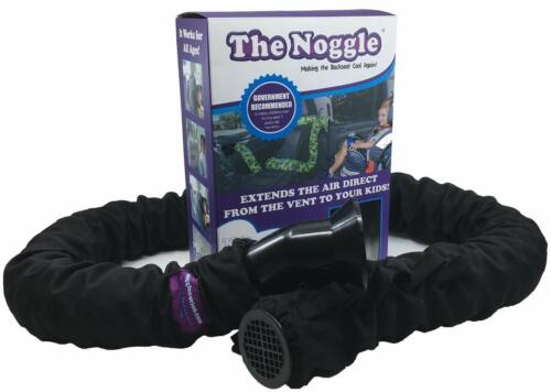 The Noggle - Making The Backseat Cool Again- Quick & Easy- 10ft- Black- Open Box