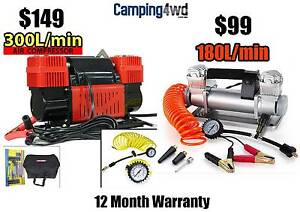 12V Air Compressor H DUTY 4WD caravan truck boat car poratable Heathridge Joondalup Area Preview