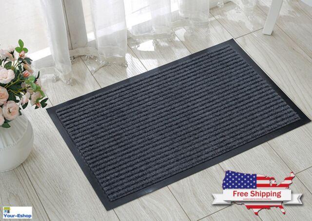 Large Front Door Welcome Mat Floor Entrance Outdoor Home Heavy Duty Rug Doormat & Welcome Mat | eBay Pezcame.Com