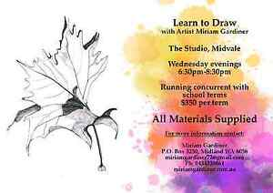 Art Classes - Learn To Draw. Term Starts Feb. 8th Midvale Mundaring Area Preview