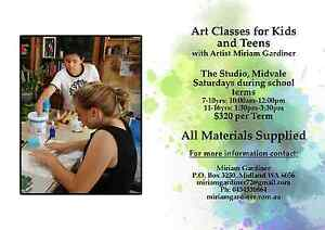 Kids & Teens Saturday or Wednesday Art Classes. Midvale Mundaring Area Preview