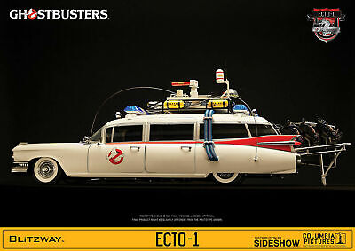 Blitzway 1/6 Scale Ghostbusters Ecto-1 1984 1/6 Scale Vehicle Brand New In Box