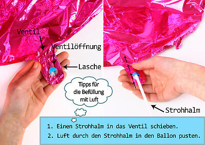 Happy Birthday Cupcake ca. 45 cm Luftballons Folienballon