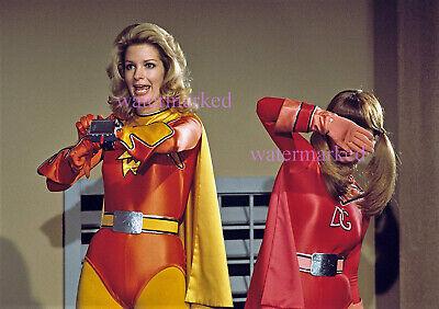 JUDY STRANGIS IN 1970's DYNA GIRL AND ELECTRA SUPER HERO WOMEN 8.5X11 PHOTO ](Superhero Electra)