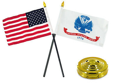 "Honduras 4/""x6/"" Flag Desk Set Table Stick Black Base"